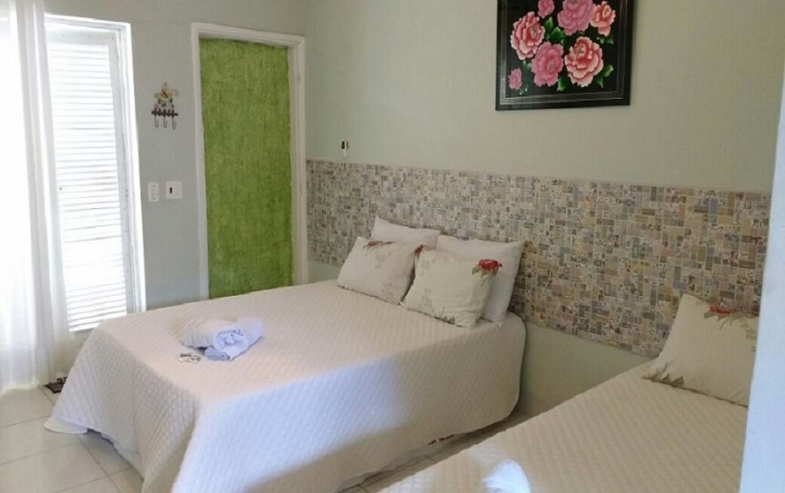Suites pousada sorocotuba Enseada Guaruja