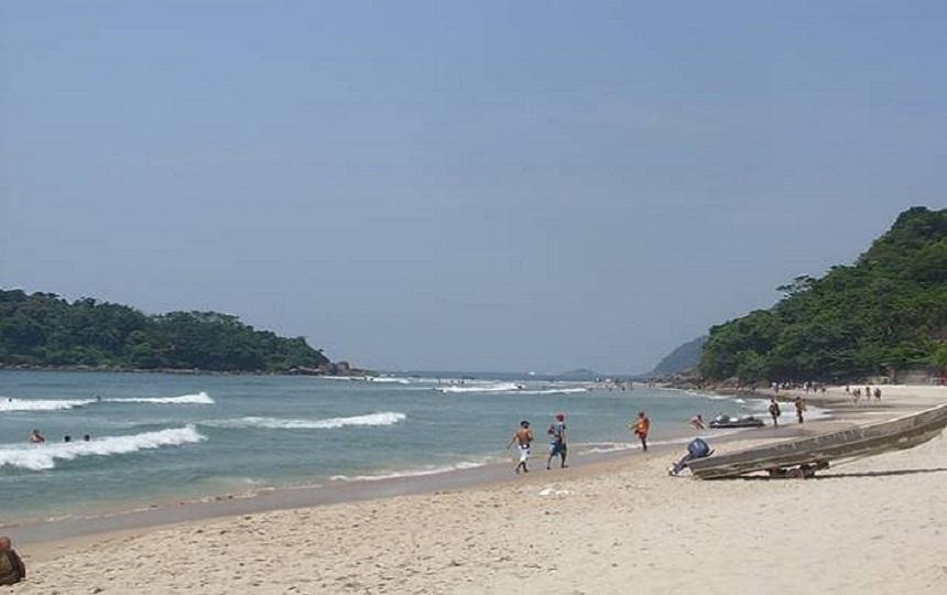 Praias de Bertioga - Prainha Branca Bertioga - Guaruja