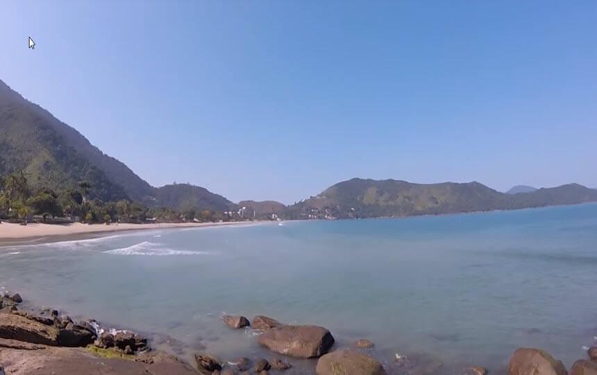Praia da Enseada em Ubatuba