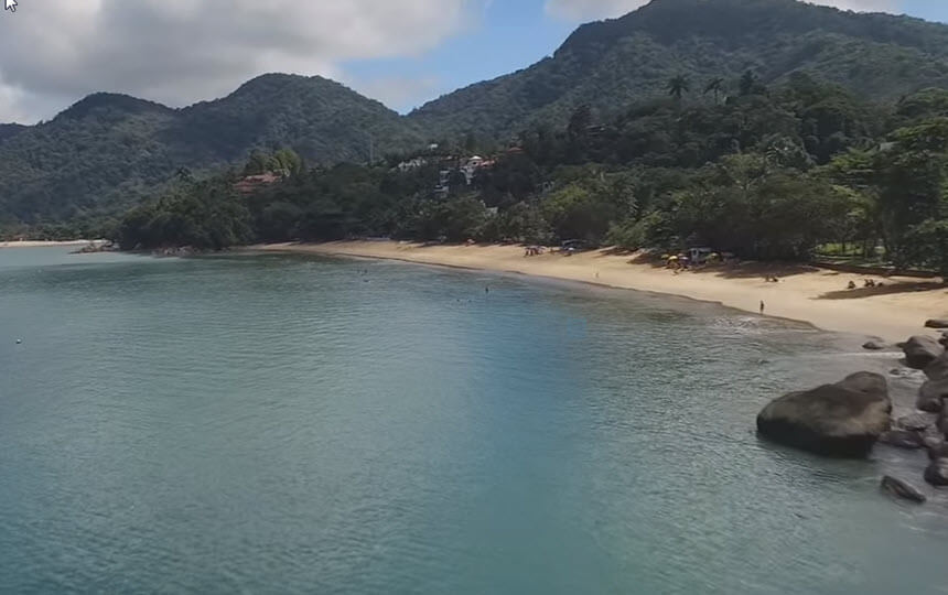 Praia da Santa Rita - Ubatuba SP