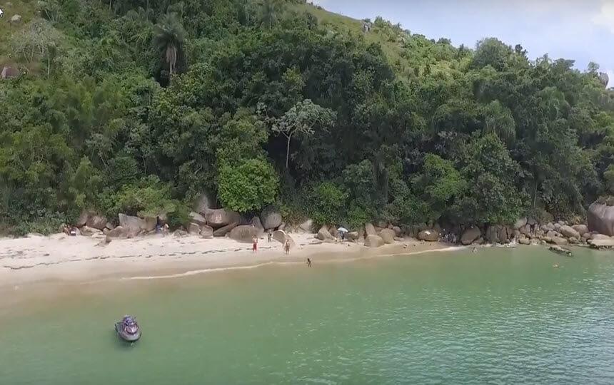 Praia de Cananeia