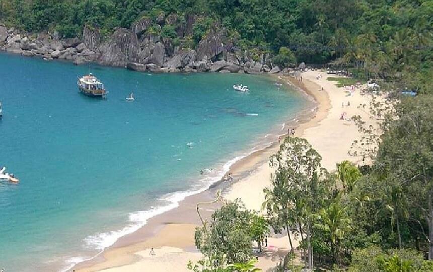 Praias de Ilhabela - SP - Praia do Jabaquara