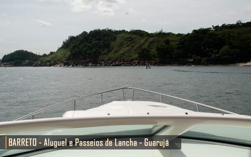 Aluguel e Passeios de Lancha nas Praias do Guarujá