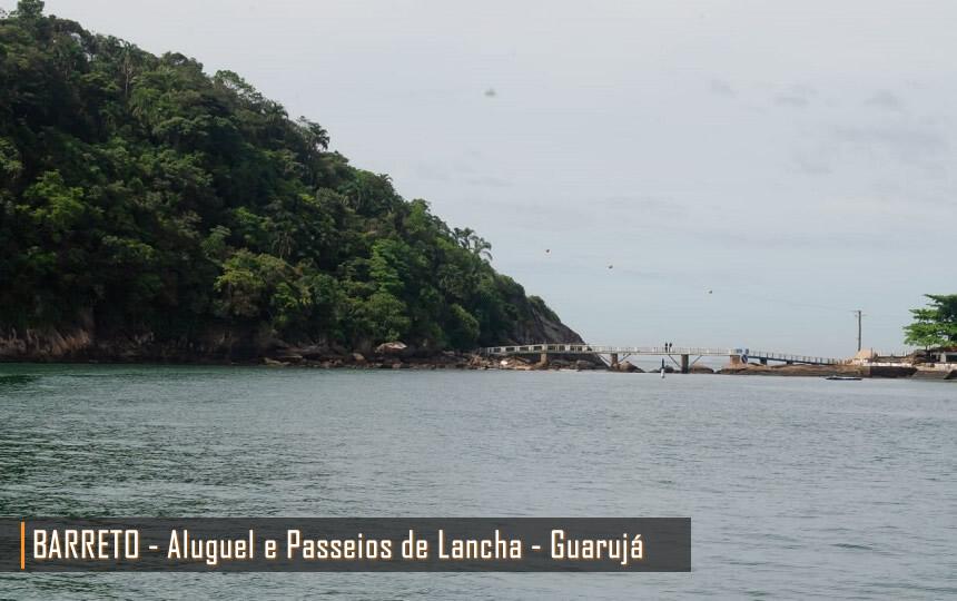Passeio de Lancha pelas Praias do Guarujá SP