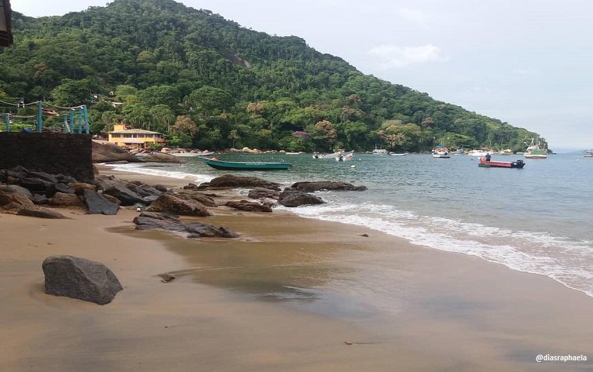 Ilha das couves em ubatuba litoral norte