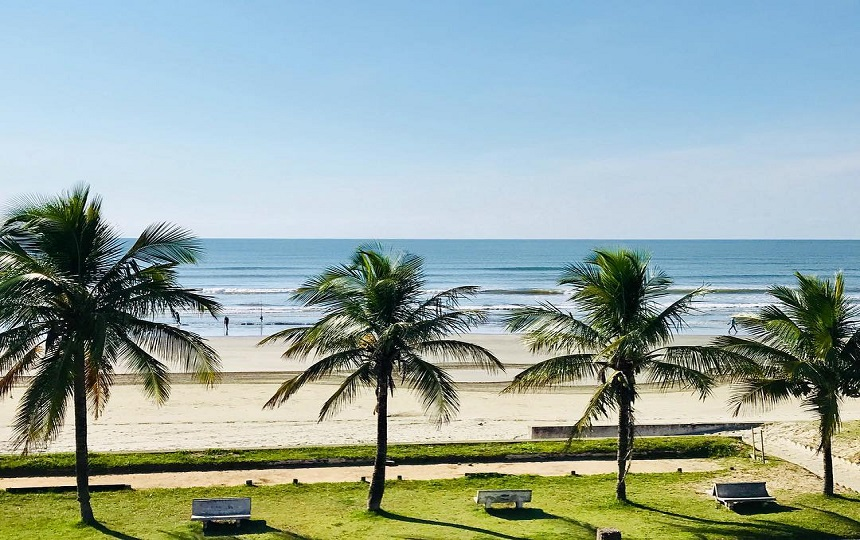 Praia de Peruíbe Litoral SP