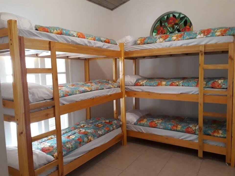 Quarto Hostel Brazil Backpackers Guarujá