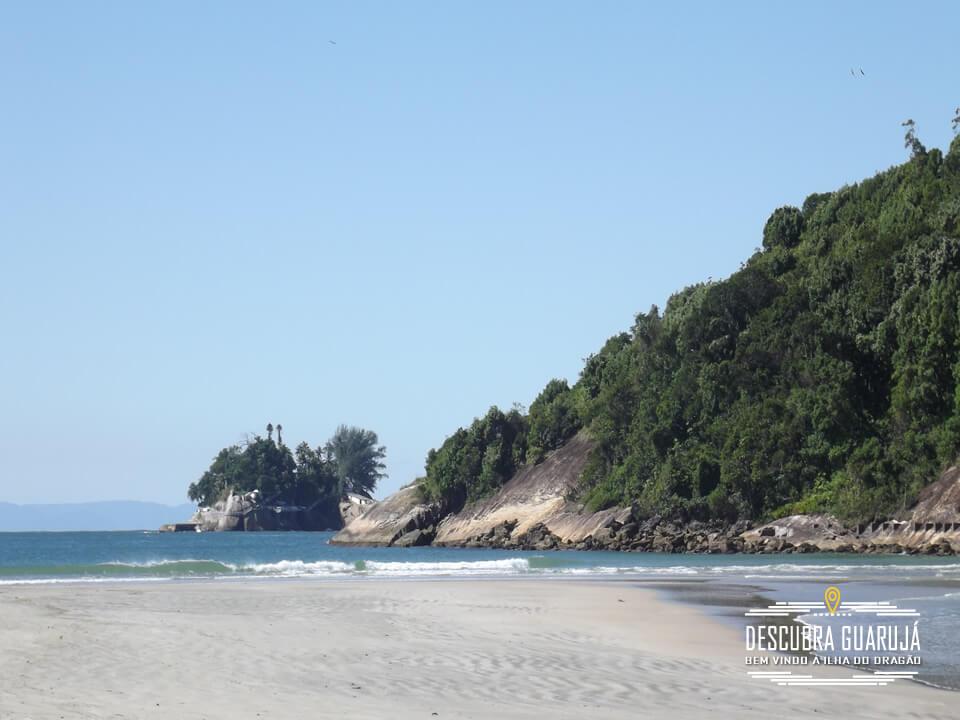 Vista Ilha e Encontro de Mares Praia do Mar Casado