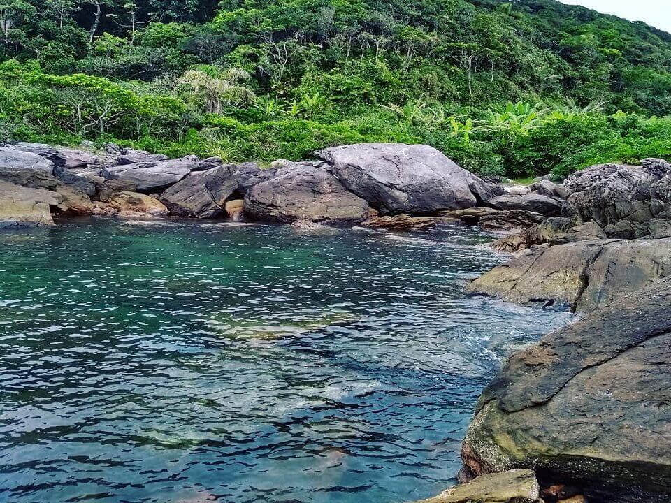 praia de Boraceia em Bertioga SP