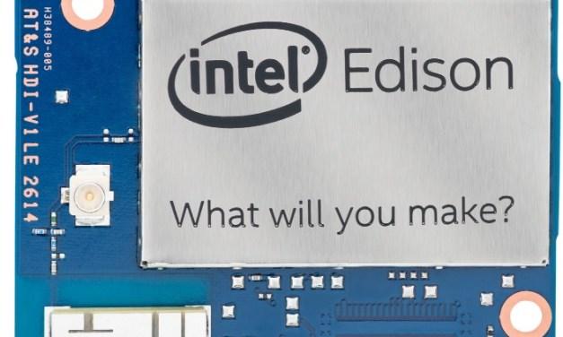 ▷ Intel Edison, un pequeño PC compatible con Arduino