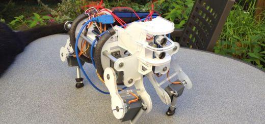 beber - Un bebe robot cuadrupedo