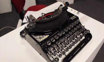 Máquina de escribir interactiva