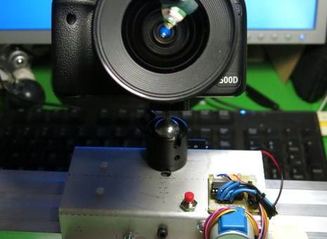 Un deslizador de cámara