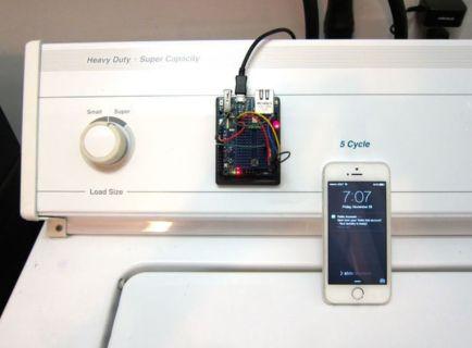 lavadora arduino2 610x450 - Alarma para lavadora con Arduino