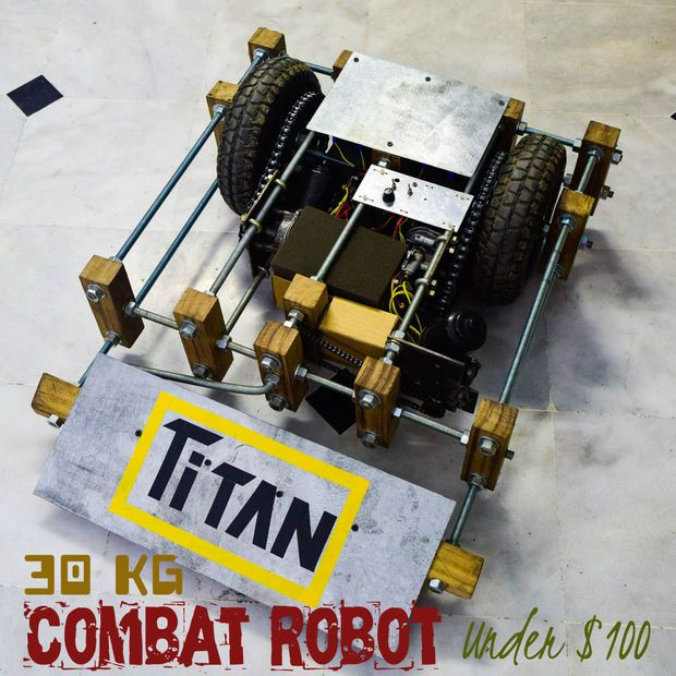 Construye Un Robot De Combate Por Menos De 100 Euros