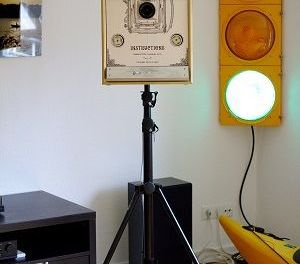 Un Photo Booth con wifi controlado con #arduino