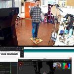 Un escaner 3D controlado por la voz con #arduino