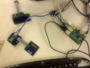 taller RP y arduino