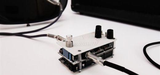 Un pedal para guitarra eléctrica con #Arduino