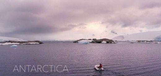 antartica - Antartica, la Antártida a vista de drone, impresionante video