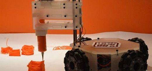 bot06 - 3&Dbot, el robot que imprime cualquier cosa en cualquier lugar