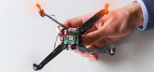 dronorigami - El dron basado en el Origami