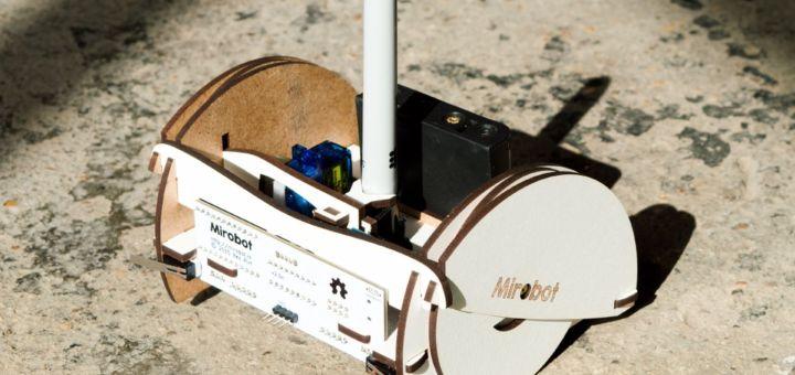 mirobot - Mirobot, otro kit robótico enfocado a los niños