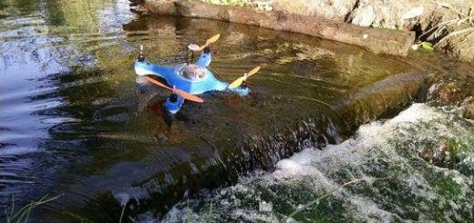 Aguadrone, el dron que te ayuda a pescar más y mejor