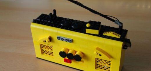 lego radio - Construye una LEGO radio con Littlebits