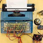 Arduino te ayuda a convertir una vieja máquina de escribir en una impresora