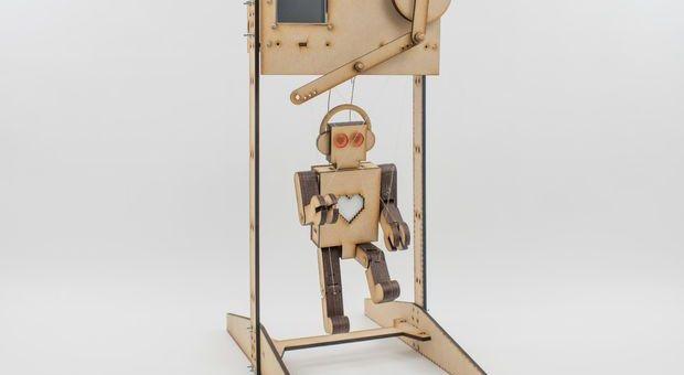 marioneta arduino - Una marioneta controlada por pantalla táctil