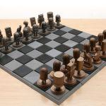 Crea un ajedrez de metal impreso en 3D