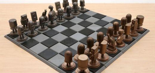 ajedrez impreso3d - Crea un ajedrez de metal impreso en 3D