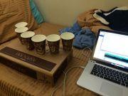 illuminaphone2-450x338 Arduino y unas tazas de café hacen un original instrumento musical