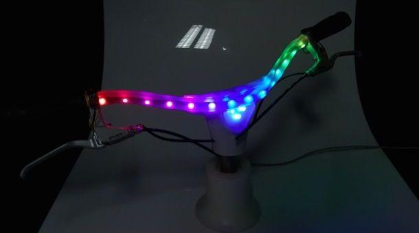 manillar - Original sistema de iluminación y seguridad para tu bici