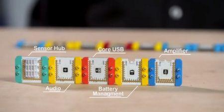 mcookie2 450x225 - Microduino Mcookie, kit de desarrollo compatible con Arduino y LEGO