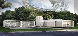 oficina impresa3D 2 300x141 - El primer edificio de oficinas impreso en 3D se construirá en Dubai