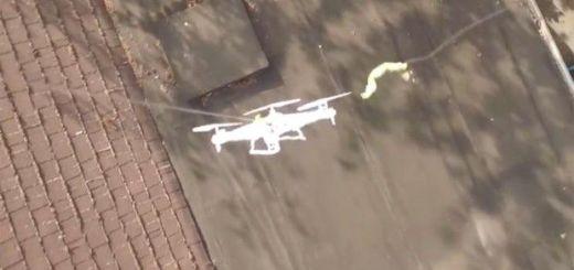 rescata dron - Vídeo del día: Misión Imposible, al rescate del dron