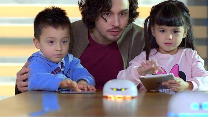 Vortex, un robot de código abierto para enseñar a los niños a programar