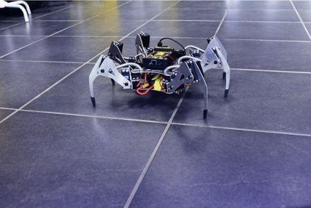 SPIDER1-450x301 Erle-Spider: El primer hexápodo Ubuntu con soporte para ROS