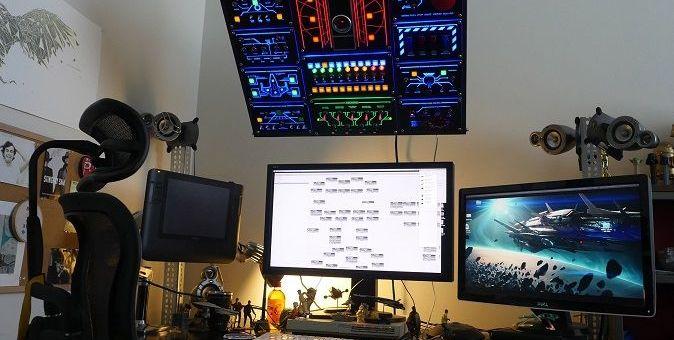 arduino panel control - Un tablero de control espacial para tu ordenador con Arduino