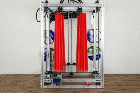 the_beast_3d_printer2-450x301 The Beast, la gran impresora 3D para tus grandes ideas.