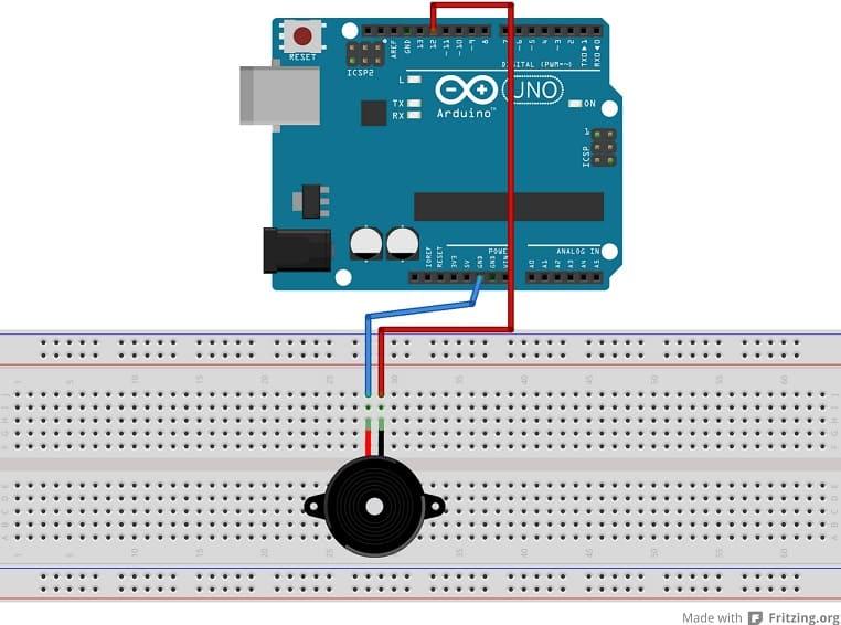 conexión altavoz o buzzer arduino - Tutorial de Arduino- Haciendo Sonidos con Arduino