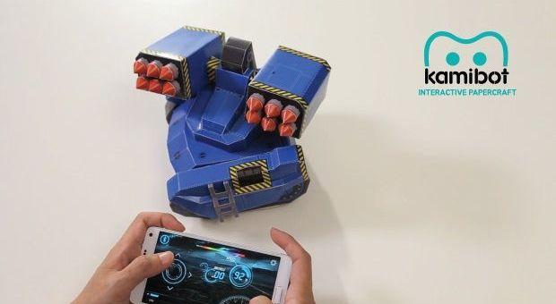 kamibot - Kamibot, un robot de cartulina compatible con Arduino