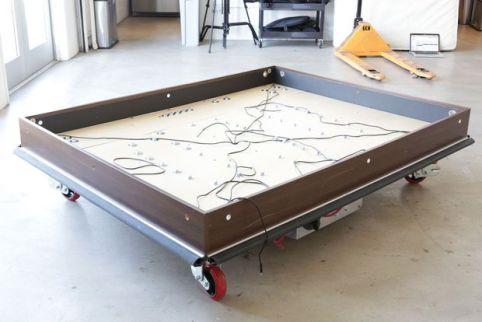 cama arduino2 - Una cama robot que se mueve autonomamente
