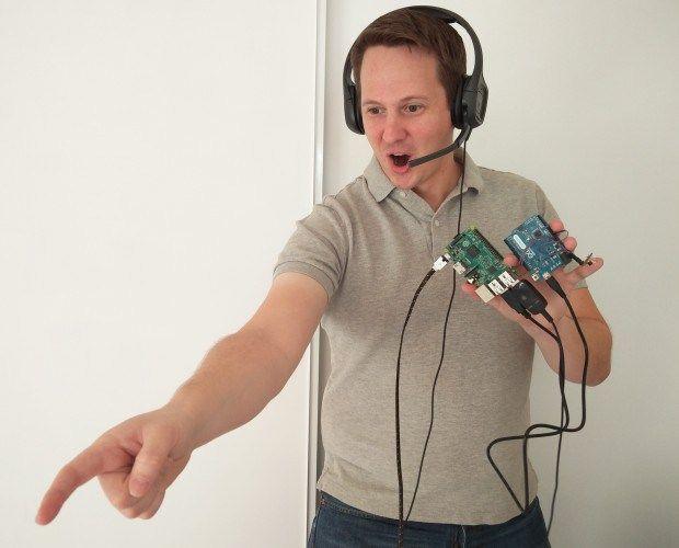 Controla tu robot Roomba por voz gracias a Raspberry Pi y Arduino