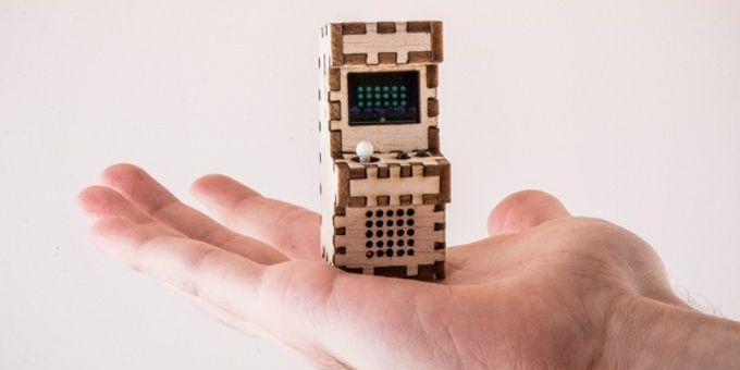 tinyarcades - Tiny Arcade, las máquinas de videojuegos más pequeñas