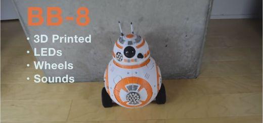 bb 8 - Un Maker se fabrica su propio robot BB-8 de Star Wars