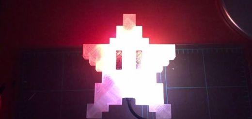 estrella navidad arduino - Una estrella a lo Super Mario para tu Árbol de Navidad