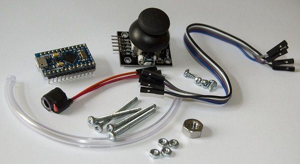 raton-arduino2 Arduino controla este ratón que se maneja con la boca